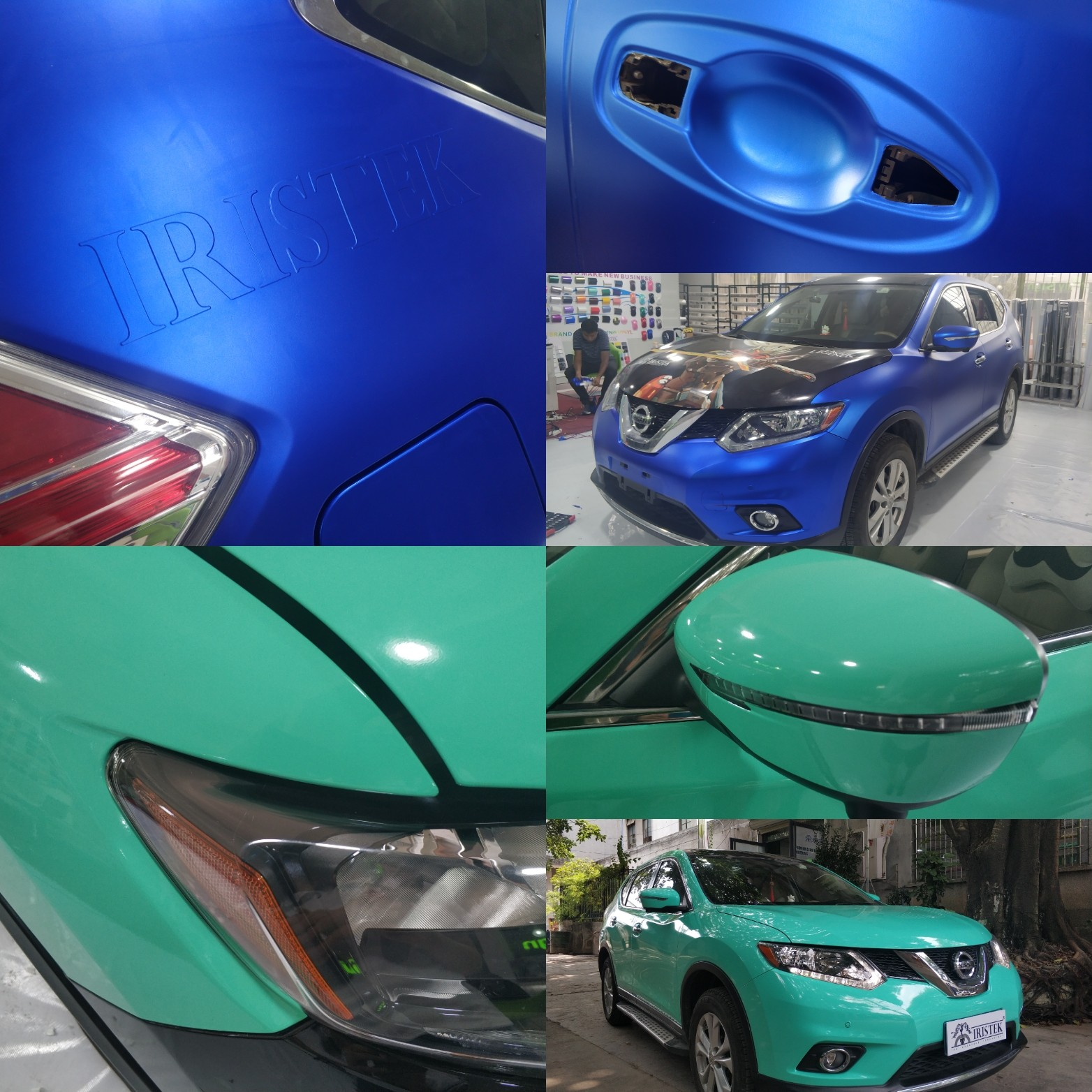 IRISTEK-Vehicle Vinyl Wrap-top News: Exposing The Whole Process Of Iristek Car-1
