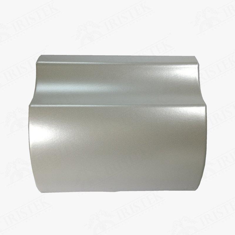IRISTEK Satin Metallic Pearl White Vinyl