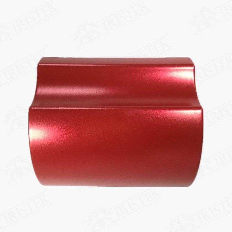 IRISTEK Satin Metallic Pearl Red Vinyl