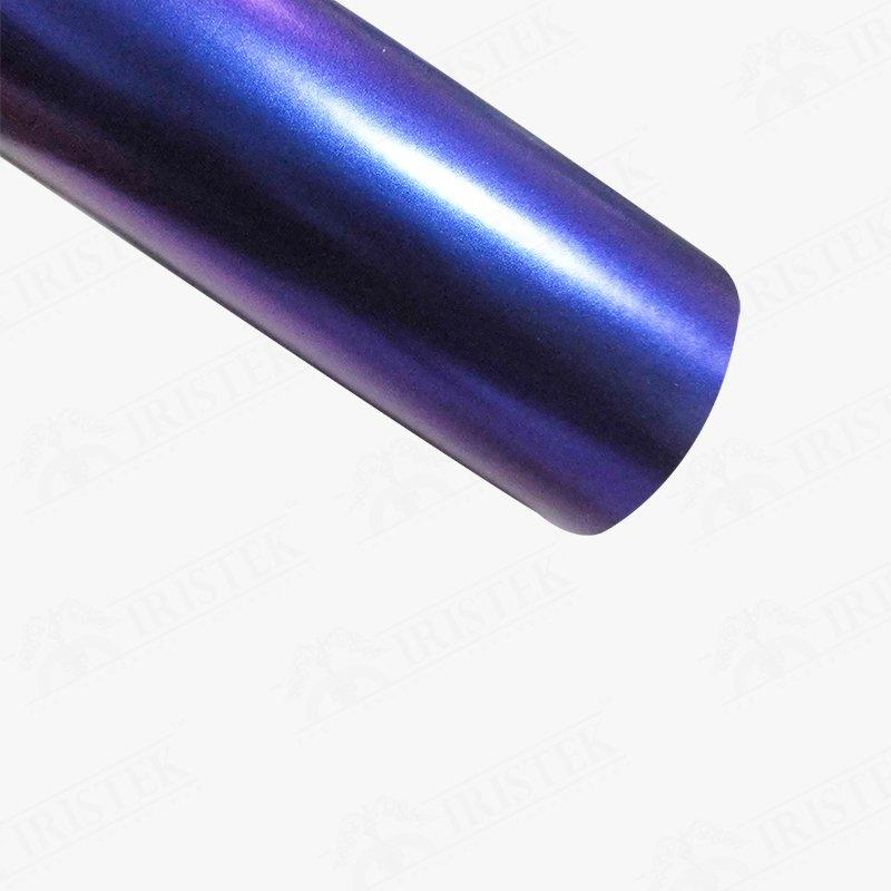 IRISTEK Satin Chameleon Purple to Blue Vinyl