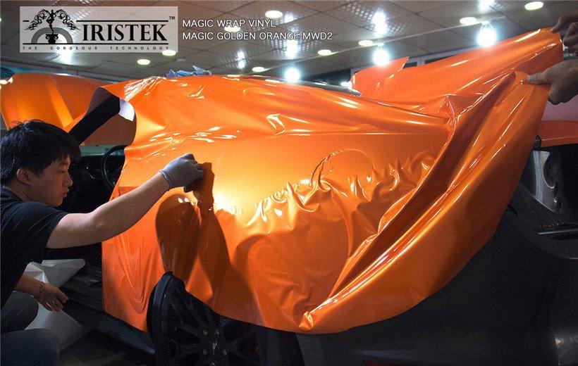 IRISTEK-Find Iristek Magic Wrap Vinyl Magic Golden Orange-8
