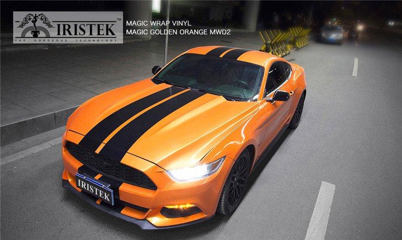 IRISTEK-Find Iristek Magic Wrap Vinyl Magic Golden Orange-9