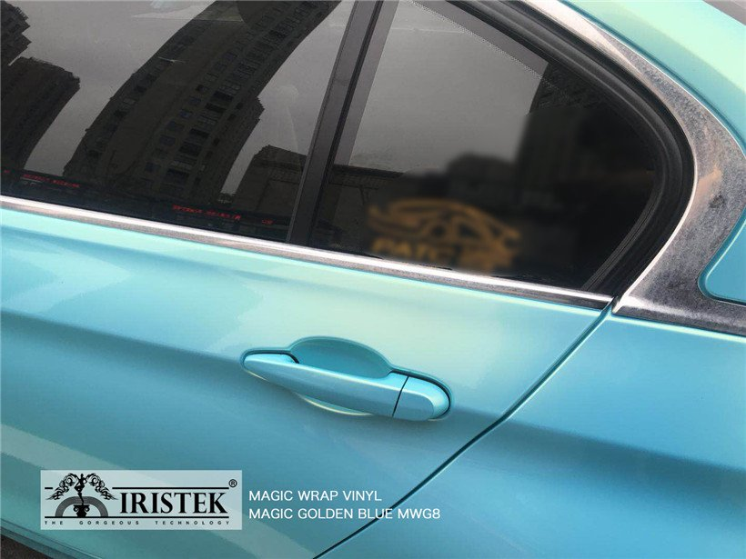 IRISTEK-Find Iristek Magic Wrap Vinyl Magic Golden Blue On Iristek Car Wrap Vinyl-9