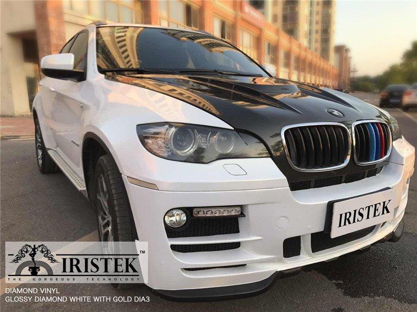 IRISTEK-Find Iristek Diamond Vinyl Glossy Diamond White With Gold-9
