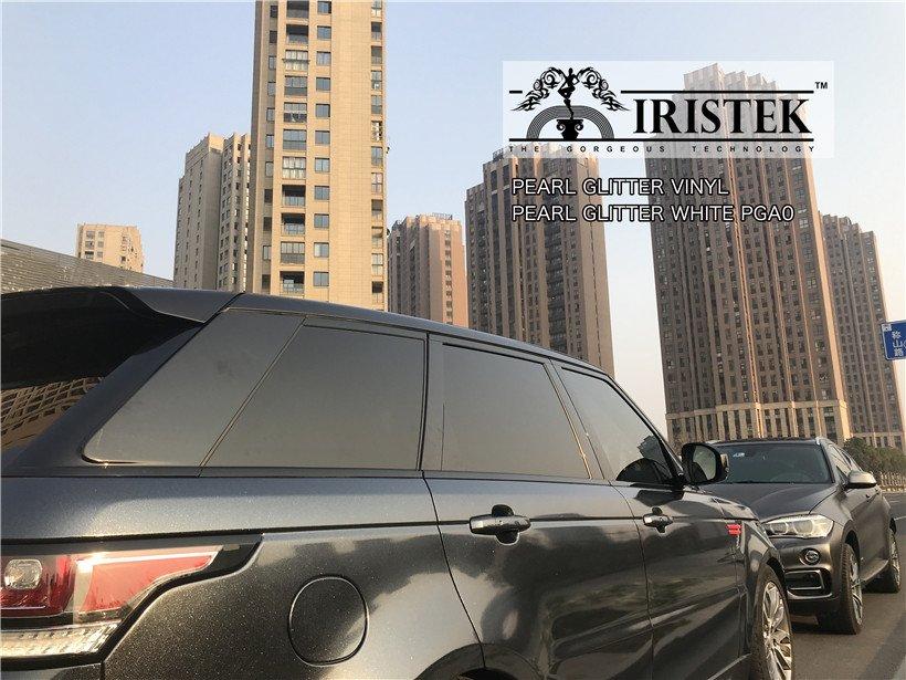 IRISTEK-Iristek Pearl Glitter Vinyl Black - Iristek Car Wrap Vinyl-10