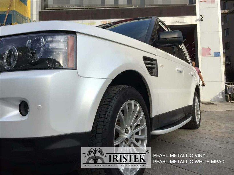 IRISTEK-Iristek Pearl Metallic White Vinyl | Pearl Metallic Vinyl | Iristek Car-7
