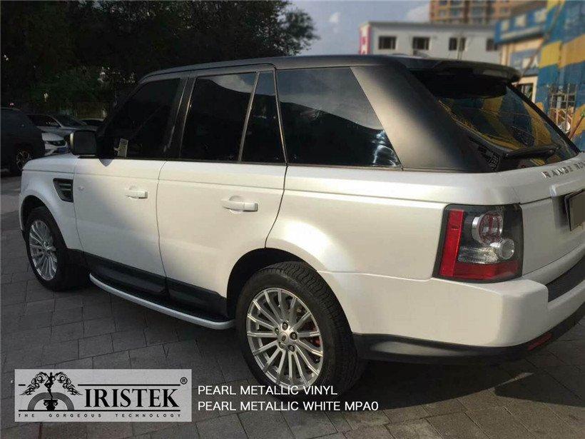 IRISTEK-Iristek Pearl Metallic White Vinyl | Pearl Metallic Vinyl | Iristek Car-10