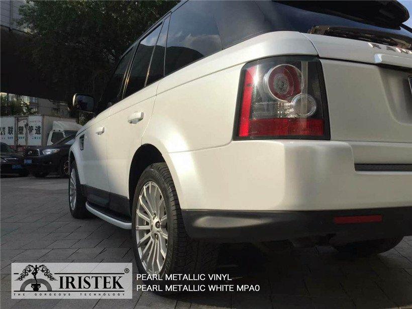 IRISTEK-Iristek Pearl Metallic White Vinyl | Pearl Metallic Vinyl | Iristek Car-11