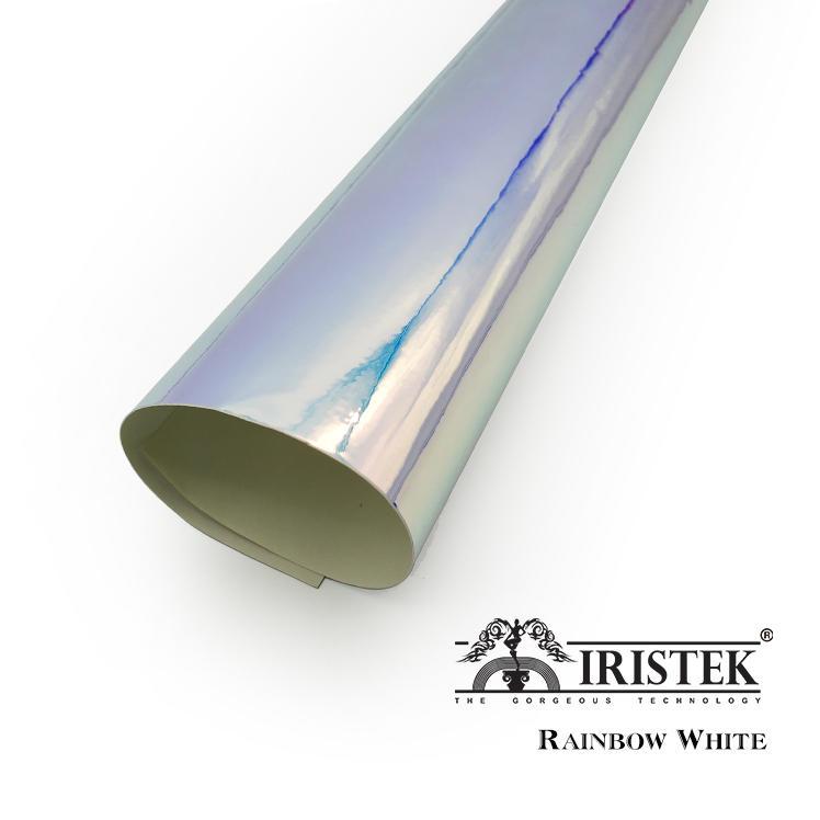 IRISTEK Rainbow Chrome Vinyl White