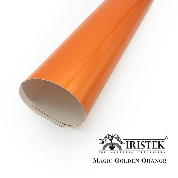 IRISTEK Magic Wrap Vinyl Magic Golden Orange