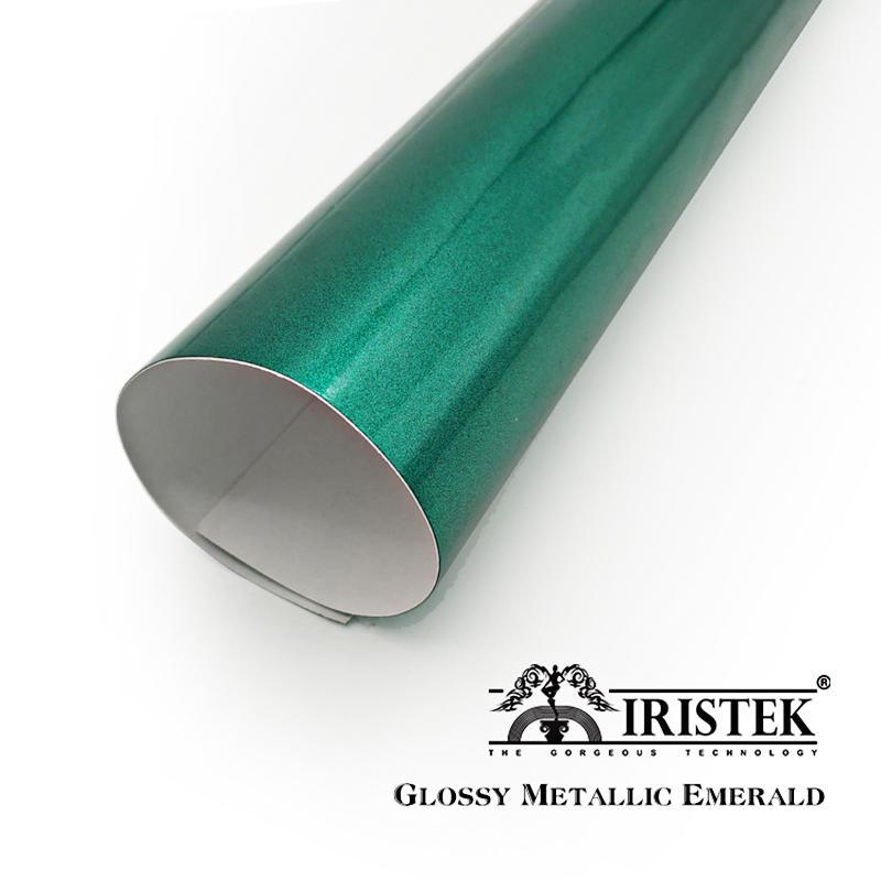 IRISTEK High Glossy Metallic Vinyl Emerald