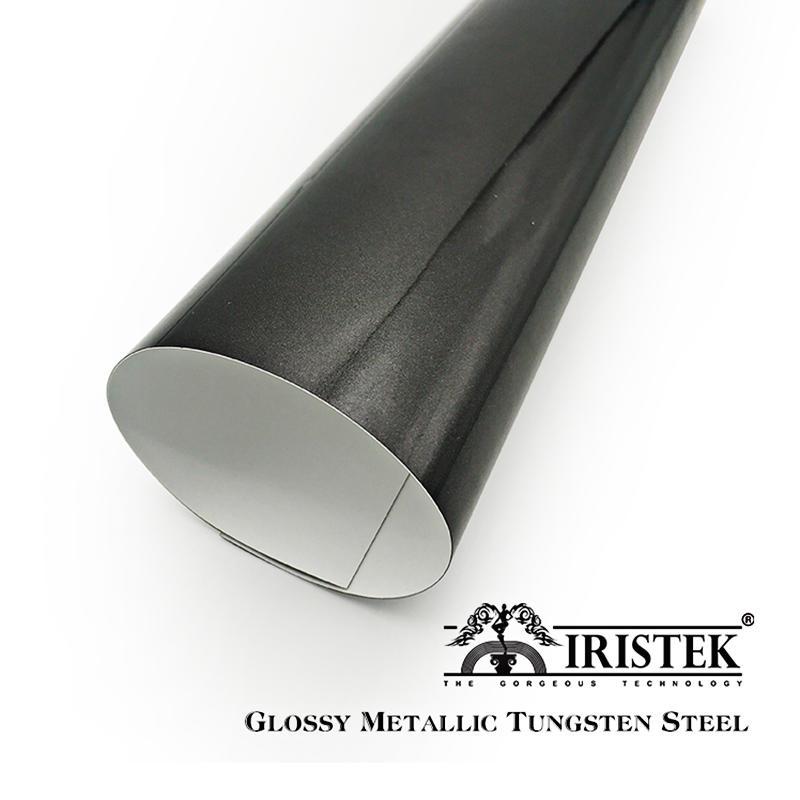 IRISTEK High Glossy Metallic Vinyl Tungsten Steel