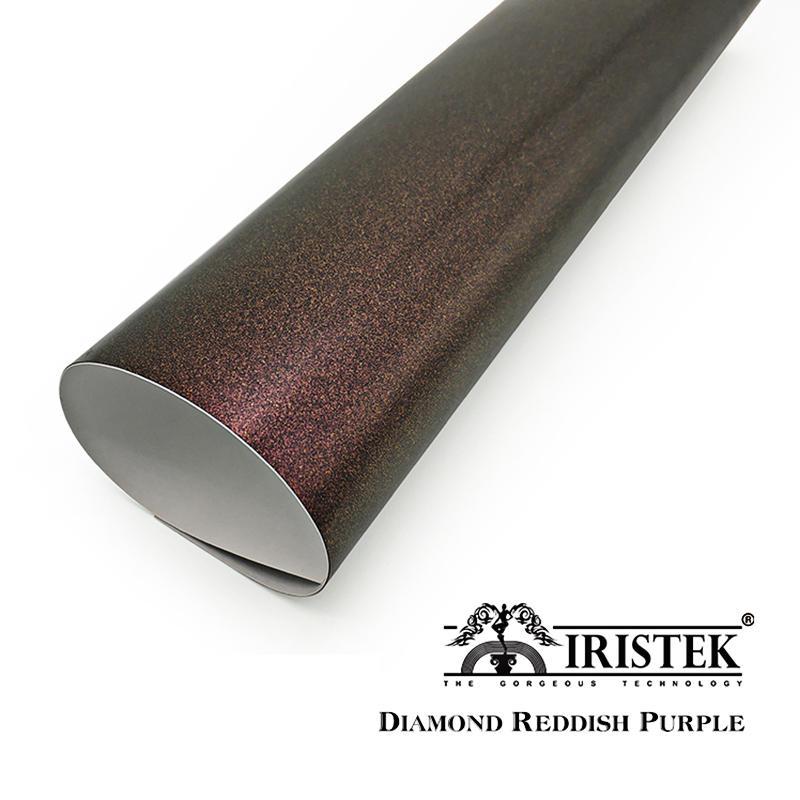IRISTEK Diamond Vinyl Diamond Reddish Purple