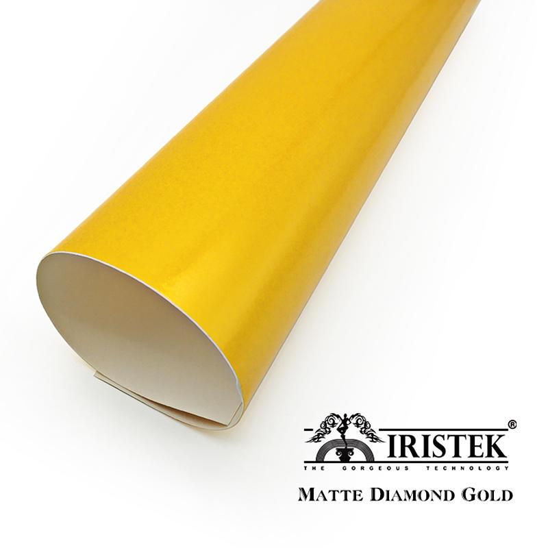 IRISTEK Diamond Vinyl Matte Diamond Gold